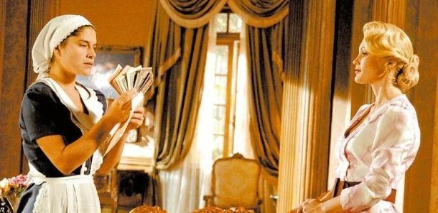 Priscila Fantin como Serena e Flávia Alessandra como Cristina em