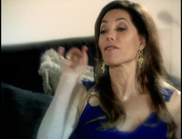 Tereza Cristina convida Crô para matar Griselda mas ele recusa.