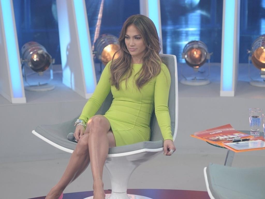 Jennifer Lopez grava participação no programa