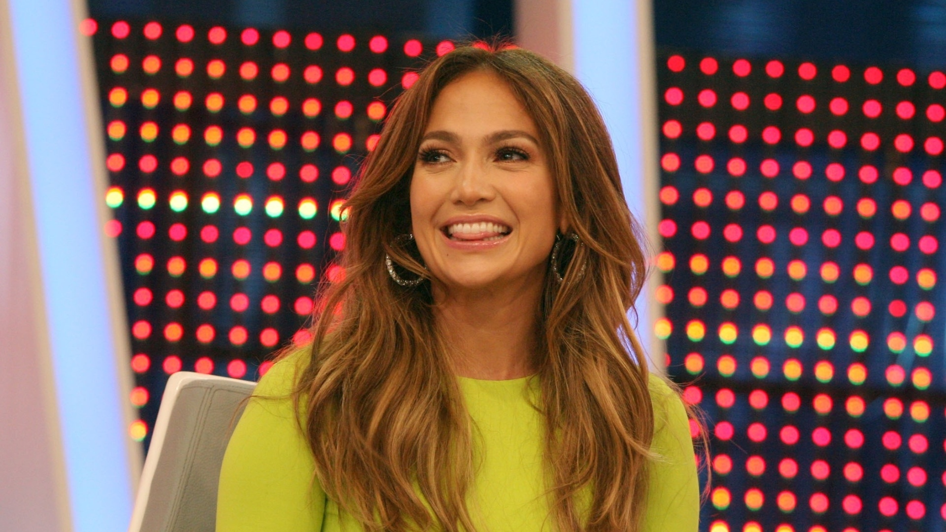 Jennifer Lopez grava participao no programa 