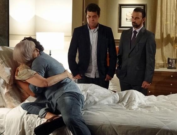 No leito de morte de Verbena, Rodrigo aceita receber sua herança (29/3/12)