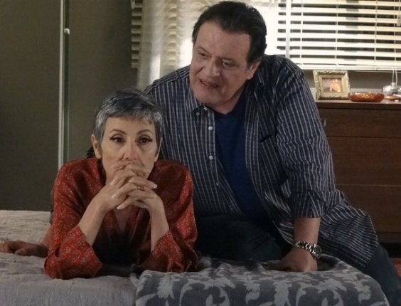 Melissa e Dimas se preocupam com o dom de Rodrigo (30/3/12)