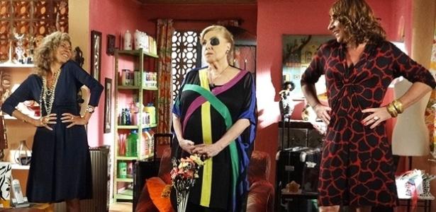Maruschka se muda com Mirta para a casa de Ana Girafa e redecora tudo (9/4/12)