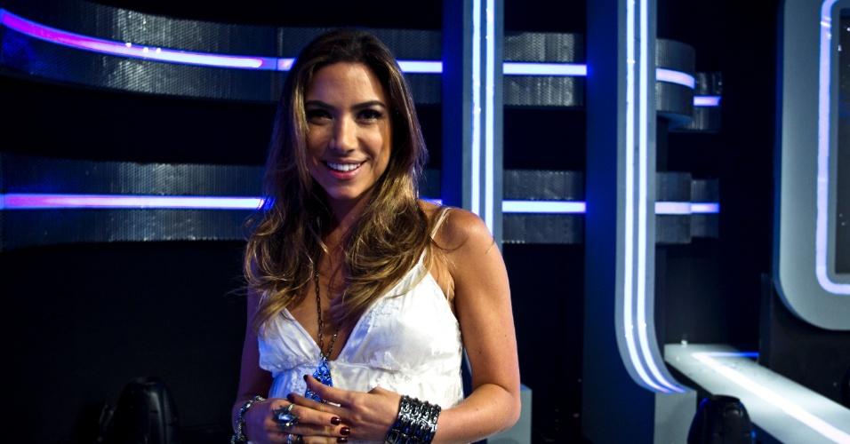 Patrícia afirma que não se sente à vontade como apresentadora: