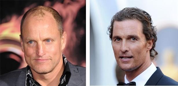 Os atores Woody Harrelson e Matthew McConaughey, que podem estrelar juntos na série policial