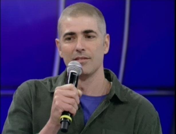 Reynaldo Gianecchini aparece no Faustão e fala de como o amor ajudou a curar seu câncer