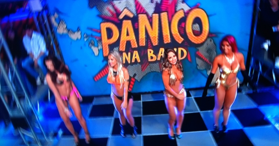 Novas panicats mudam o visual no &#34;P&#226;nico na Band&#34; &#40;22/4/2012&#41;
