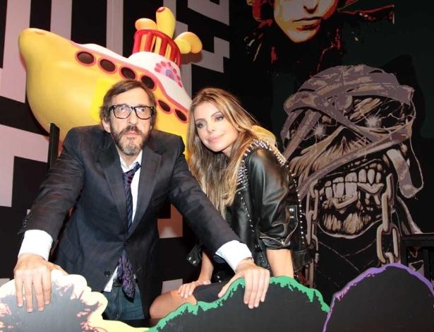 """Luiz Thunderbird e Daniella Cicarelli, os apresentadores do """"Provão MTV"""", nova atração da emissora"""