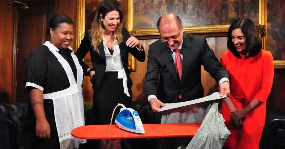 Geraldo Alckmin participa do programa