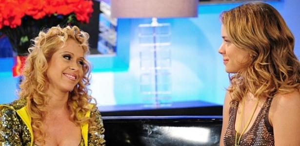 """Joelma e Leandra Leal em cena de """"Cheias de Charme"""" (26/4/12)"""