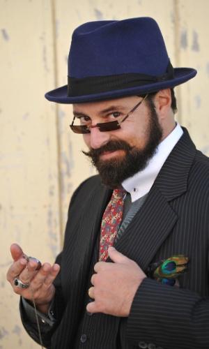 """Emilio Orciollo é Príncipe Sandra em """"Gabriela"""" (30/4/12)"""
