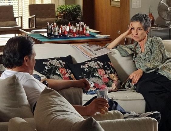 """Luis Melo e Cassia Kis Magro em cena de """"Amor Eterno Amor"""" (8/5/2012)"""