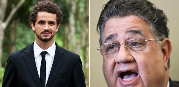 b479e59f8 Felipe Andreoli (esq.) levou um tapa no rosto do deputado federal Márcio  Reinaldo
