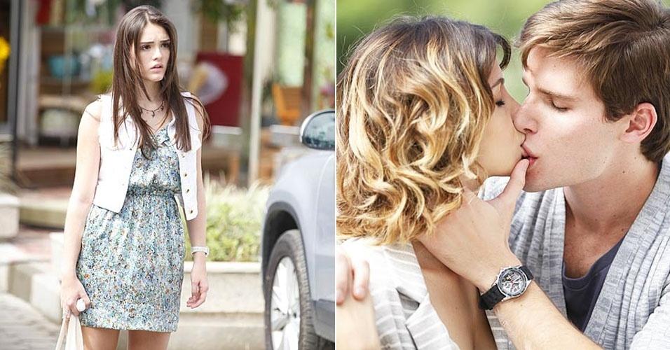 """Em """"Cheias de Charme"""", Cida flagra Conrado aos beijos com Isadora (10/5/12)"""