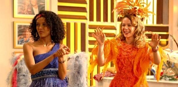 Taís Araújo e Leandra Leal em cena de