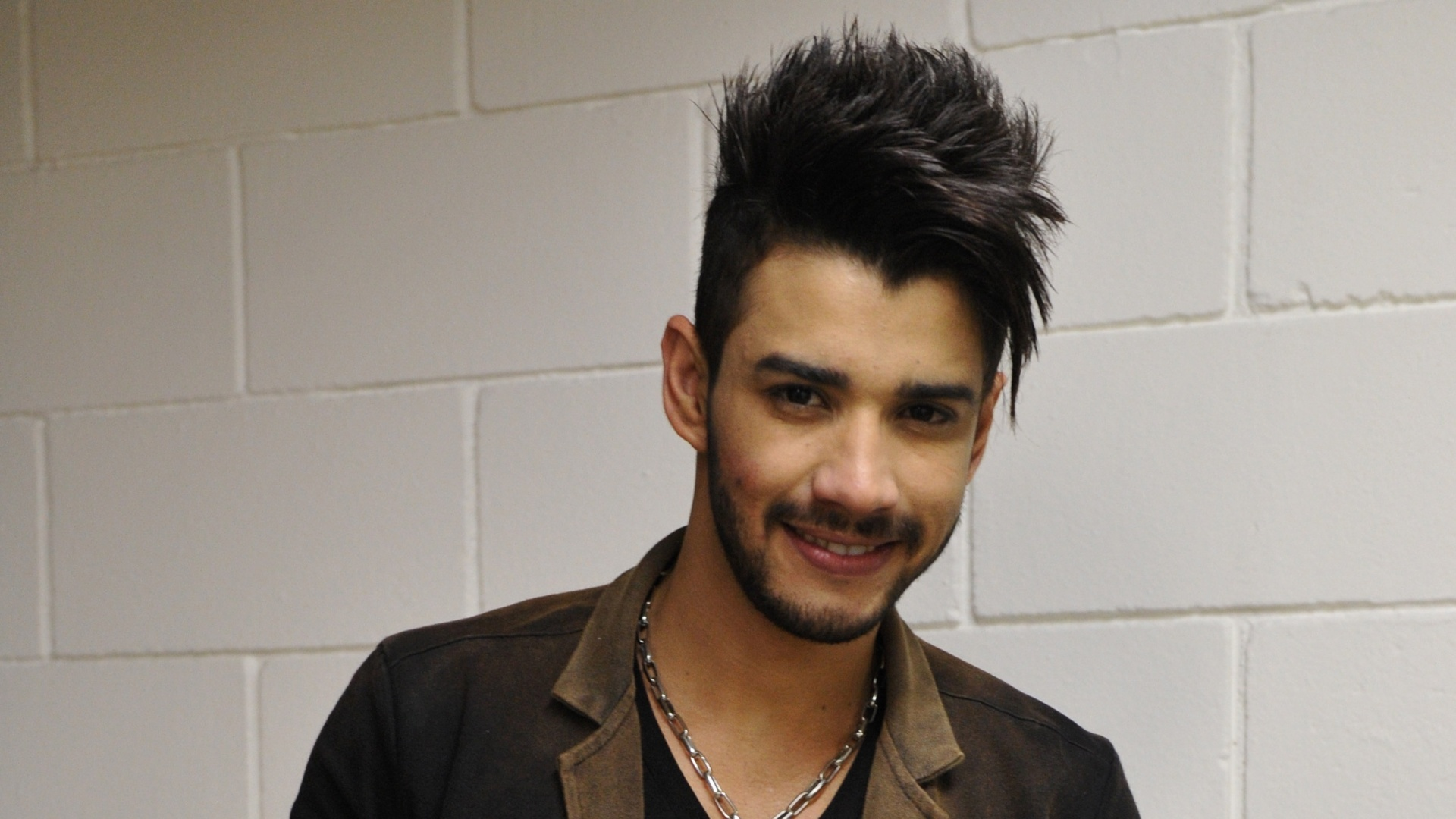 O cantor Gusttavo Lima participa do programa