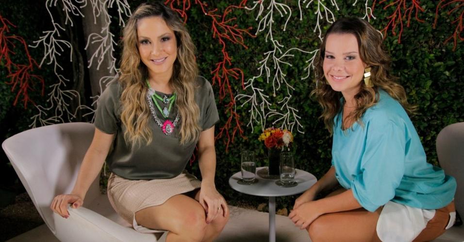 Claudia Leitte entrevista Fernanda Souza no