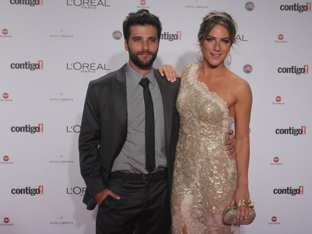 Bruno Gagliasso e Giovanna Ewbank no Prêmio Contigo! de TV (14/5/12)