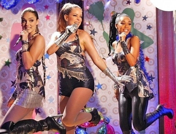 """Em """"Cheias de Charme"""", com casa cheia e ingressos esgotados, Empreguetes fazem primeiro show (29/5/12)"""