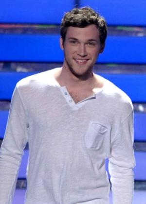 Phillip Phillips durante final do American Idol (23/5/12)