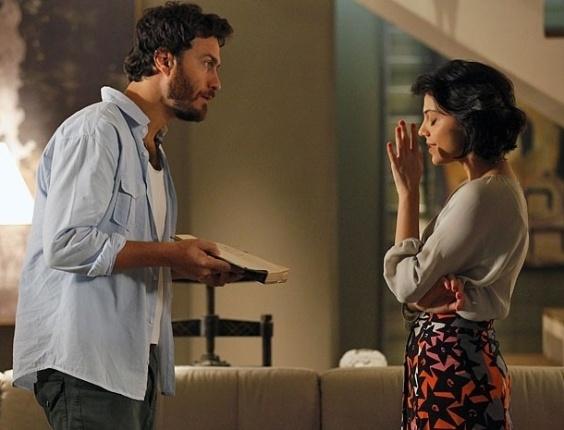 """Em """"Amor Eterno Amor"""", Miriam corta relações com Rodrigo e diz para ele viver o seu romance com Elisa"""