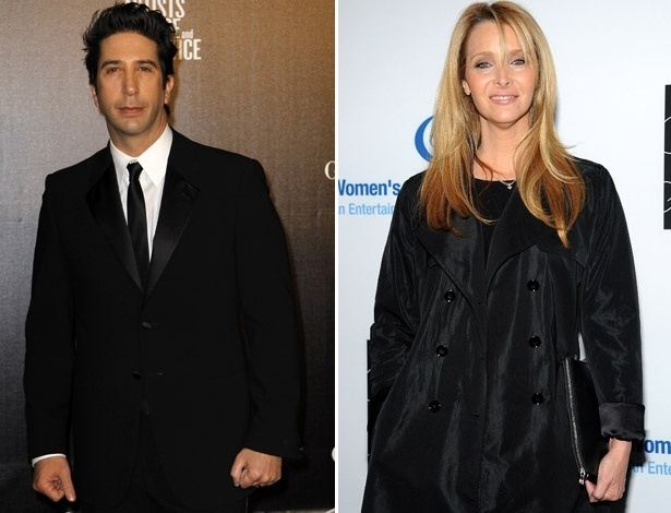 "David Schwimmer  e Lisa Kudrow, de ""Friends"", voltam a atuar juntos em ""Web Therapy"""