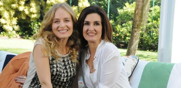 """Angélica recebe a jornalista e apresentadora Fátima Bernardes no """"Estrelas"""" (16/6/2012)"""