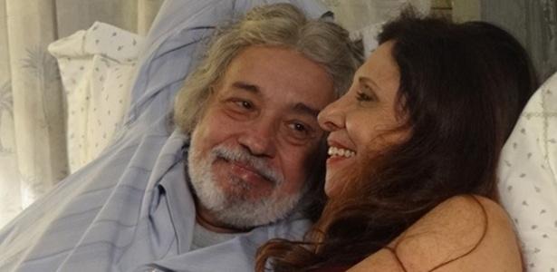 Pedro Paulo Rangel e Vera Mancini em cena de