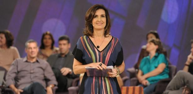 """Na estreia do programa """"Encontro com Fátima Bernardes"""", a jornalista abordou o tema da adoção (26/6/12)"""