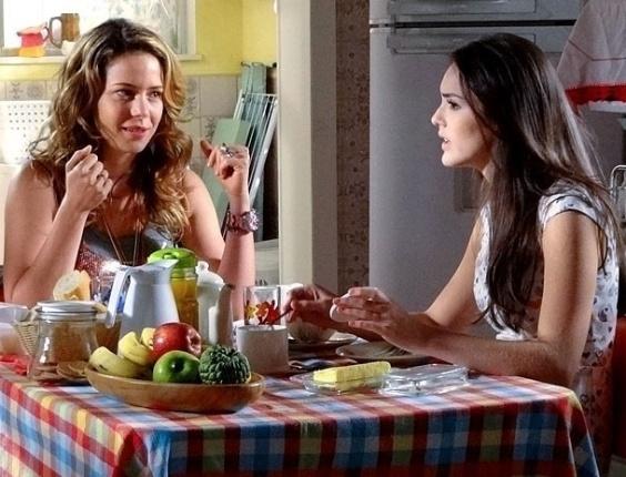 """Leandra Leal e Isabelle Drummond em cena de """"Cheias de Charme"""" (28/6/2012)"""