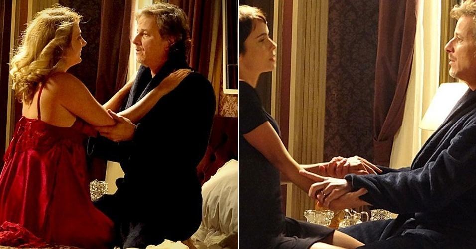 """Em """"Avenida Brasil"""", Max tem noite quente com Ivana, pensando em Nina (29/6/12)"""