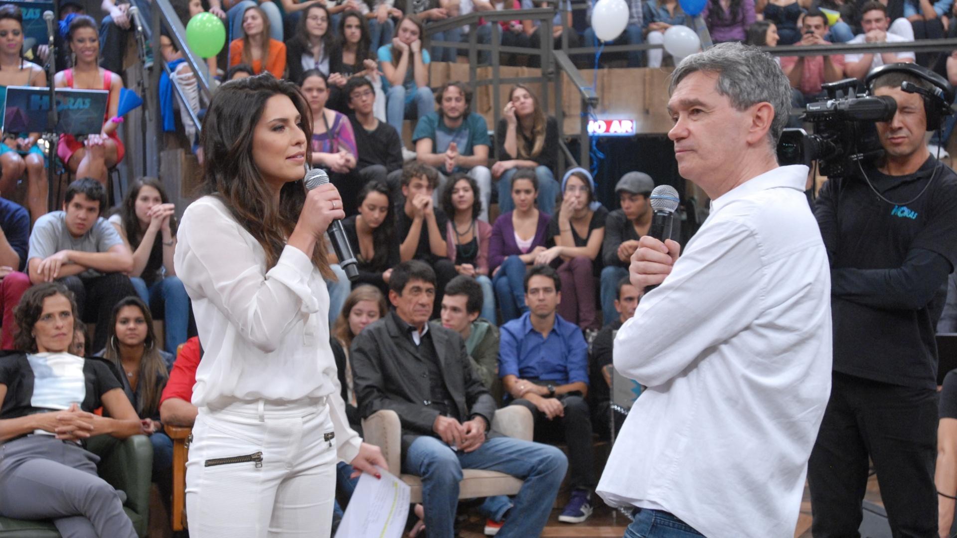 Fernanda Paes Leme ajuda em aniversário do