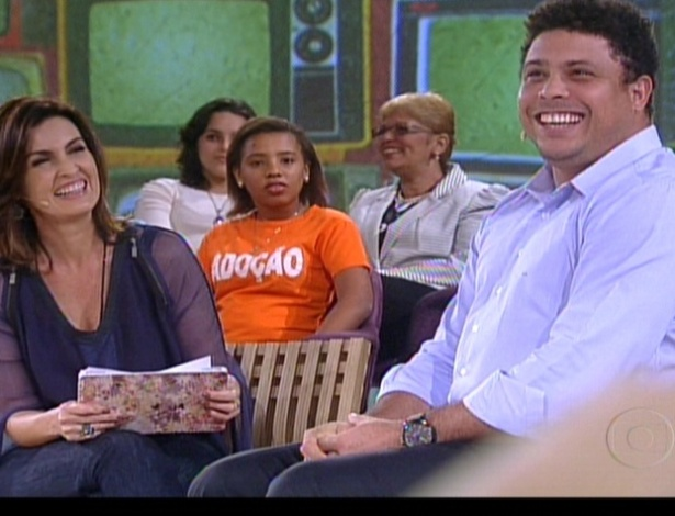 Ronaldo participa do programa 