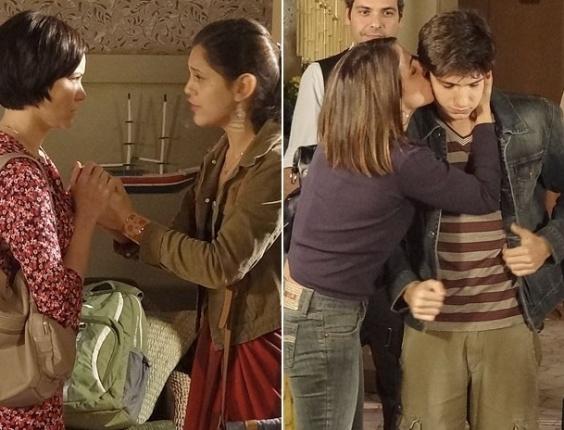 Laís e Julinho são encontrados e decretam o fim do namoro (4/7/2012)