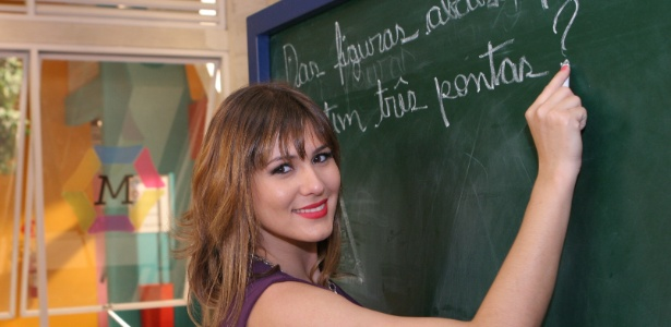 Livia Andrade como a Prof. Suzana (julho/2012)