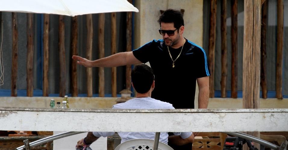 """Murilo Benício gravou cenas de """"Avenida Brasil"""" em Cabo Frio, região dos lagos do Rio (18/7/12)"""