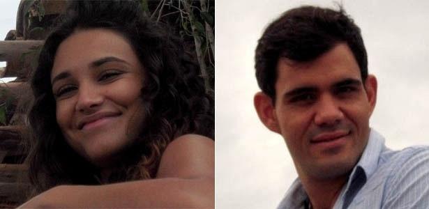 Débora Nascimento e Juliano Cazarré são Tessália e Adauto em