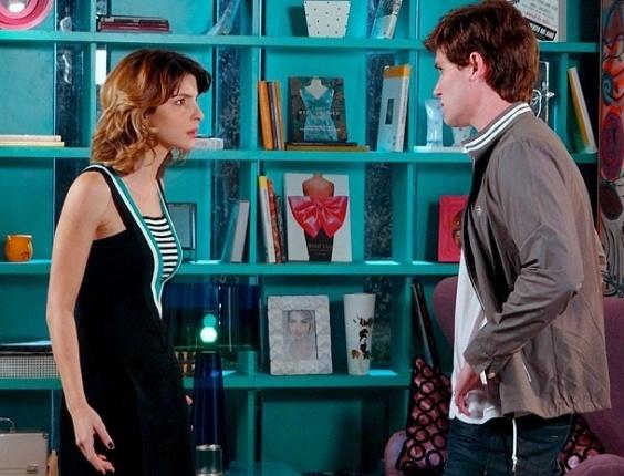 """""""Lamento o dia que você armou pra me separar da Cida"""", diz Conrado para Isadora (23/7/12)"""