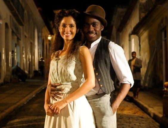 Camila Pitanga e Lázaro Ramos viverão um romance na nova novela das seis (2012)