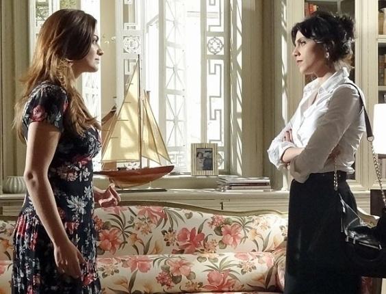 """Em """"Amor Eterno Amor"""", Elisa exige que Miriam se afaste de Rodrigo (26/7/12)"""