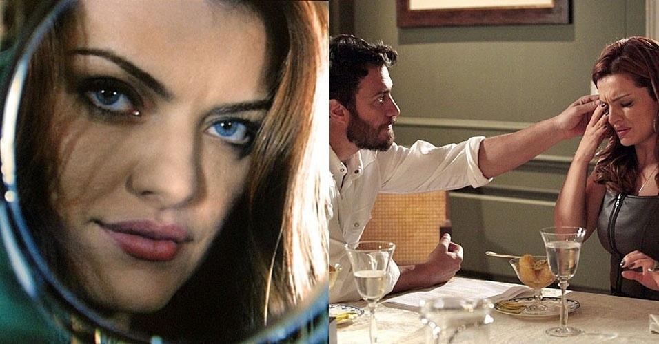 """Em """"Amor Eterno Amor"""", Elisa usa lentes castanhas para esconder seus olhos azuis de Rodrigo (2/8/12)"""