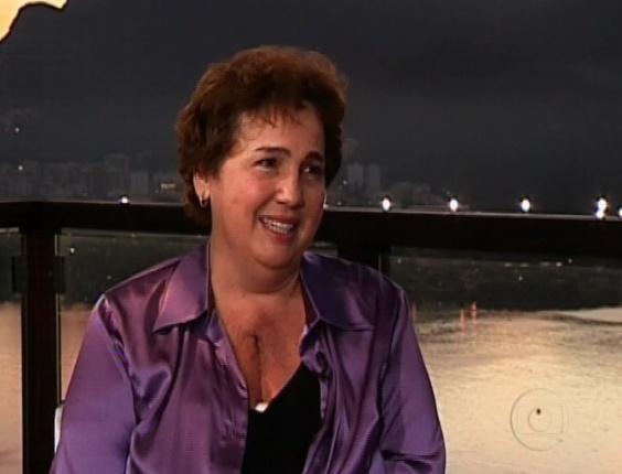 """Claudia Jimenez fala ao """"Fantástico"""" após cirurgia no coração (5/8/12)"""