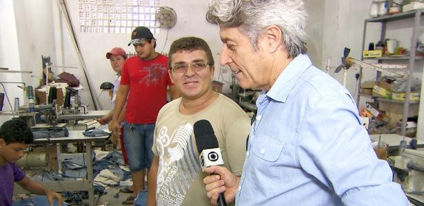 """A vida dos trabalhadores de confecções de roupas no Brasil é o tema do """"Profissão Repórter"""" (7/8/2012)"""