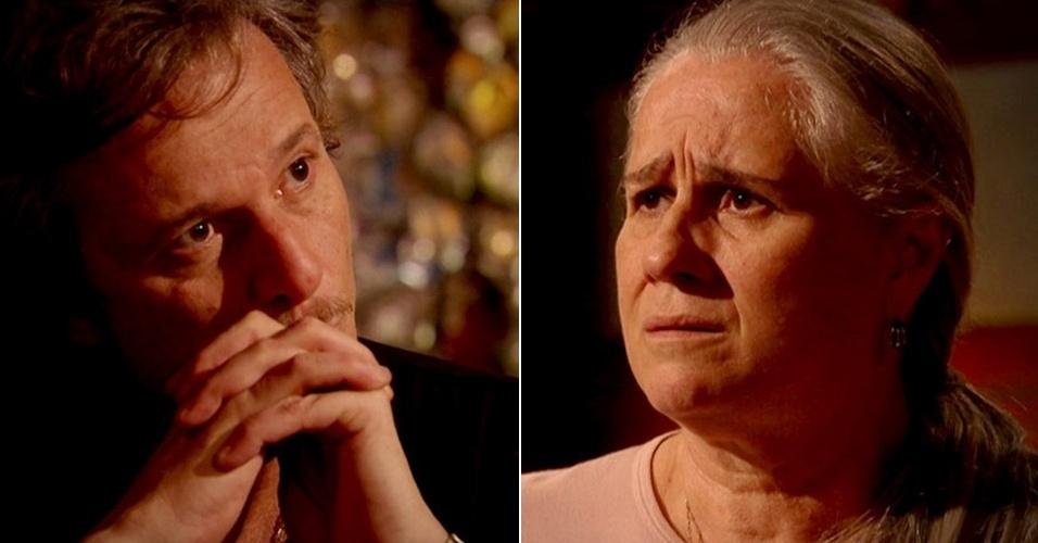 """Em """"Avenida Brasil"""", Max se recusa a reconhecer Lucinda como sua mãe (9/8/12)"""