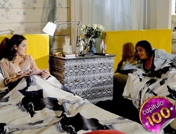 """Em """"Cheias de Charme"""", Cida testa a cara de pau de Sônia (9/8/12)"""