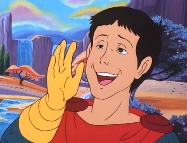 """Eric em imagem de """"Caverna do Dragão"""". Livro em que fã imagina o final que nunca veio ao desenho já vendeu mais de 4 mil exemplares na internet"""