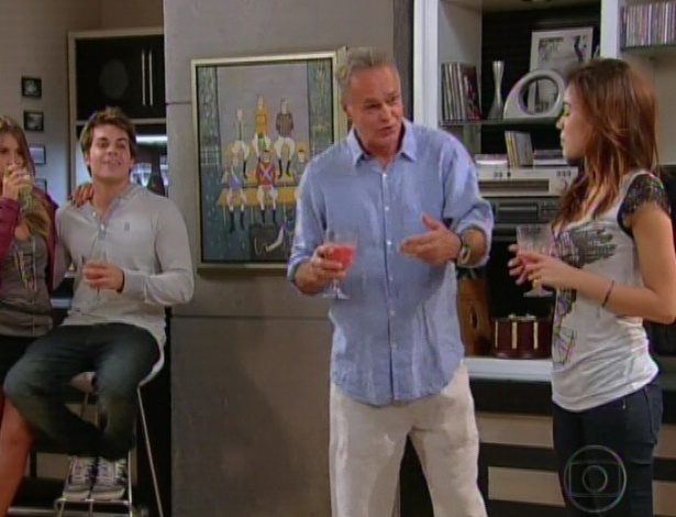 Semanas passam e Nelson anuncia que Felipe passou em um teste e vai estudar nos EUA