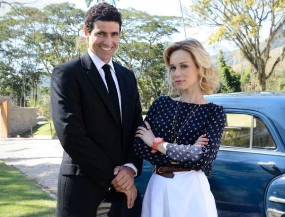Reynaldo Gianecchini e Mariana Ximenes repetem parceria em