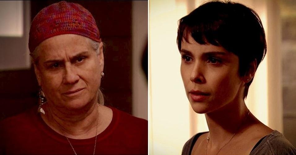 """Em """"Avenida Brasil"""", Lucinda recebe Nina na chácara e defende Max da cozinheira  (17/8/12)"""