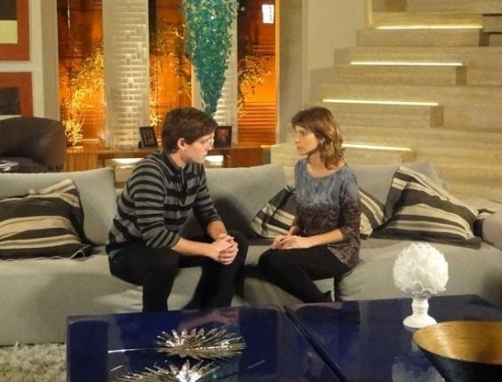 """Em """"Cheias de Charme"""", Conrado pede divórcio a Isadora e assume que sempre amou Cida (22/8/12)"""